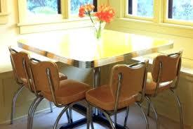 retro yellow kitchen table retro dining table and chair vintage retro kitchen table w 4 chairs