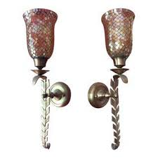 Mosaic Wall Sconce Vintage U0026 Used Italian Sconces And Wall Lamps Chairish