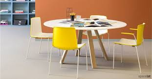 round office table and chairs round meeting tables circular office tables