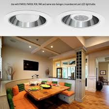 Led Light Bulbs For Recessed Cans by 6 Inch Can Trim With Aluminum Reflector Torchstar