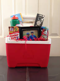 ice chest full of goodies for a coach u0027s gift gift ideas
