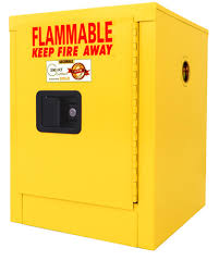 Yellow Flammable Storage Cabinet A102 4 Gal Flammable Cabinet Flammable Safety Storage