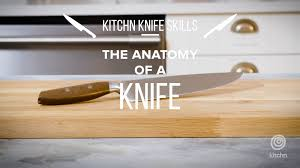 anatomy of a chefs knife what each part is called kitchn