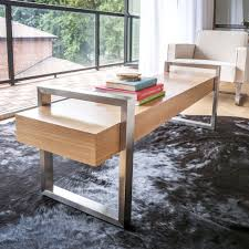 Gus Modern Desk Gus Modern Return Bench Oak Sportique