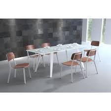 zuo house white dining table 100252 the home depot zuo house white dining table