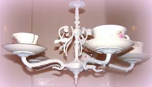 Tea Cup Chandelier Olivia U0027s Romantic Home November 2010