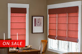 roman shades custom made fabric shades blinds to go