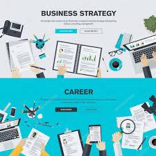 design management careers flat design illustration concepts for business finance consulting