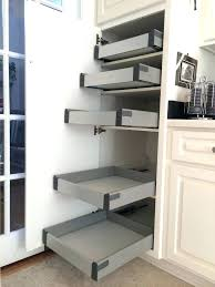 pull out shelving for kitchen cabinets pull out drawers for kitchen cabinets types elaborate pull out