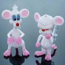 pinky and the brain smart glass pinky and the brain vapor bubbler set stuff i like