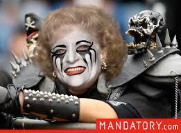 Raiders Halloween Costume Golden Girls Raiders Fans Craveonline