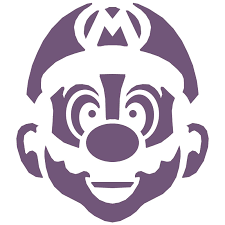Halloween Stencils Printable by Mario Pumpkin Spookify Your Pumpkin With A Mario Pumpkin Stencil