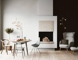 Living Room Style Scandinavian Homes  DStudio - Scandinavian design living room