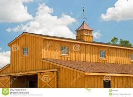 Cupolas For Barns New Farm Barn With Cupola Stock Image Image Of Weather 6089365