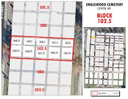 Joplin Mo Map 18 Englewood Cemetery Henry County Missouri