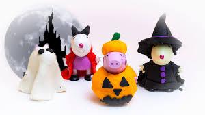 Pocoyo Halloween Costume Play Doh Peppa Pig Halloween Costume Diy Ghost Pumpkin Witch Mummy