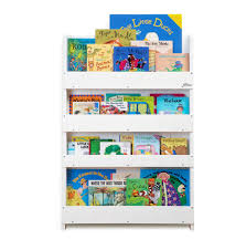wooden bookcase white by tidy books for kids in s a