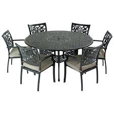 patio table and chairs with umbrella hole round patio table and chairs design of round patio tables round