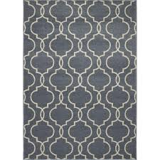 Quatrefoil Area Rug Concord Global Trading New Casa Quatrefoil Blue 3 Ft 3 In X 4 Ft