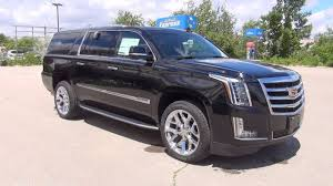 cadillac escalade 2017 2017 cadillac escalade esv 4wd premium luxury black raven youtube