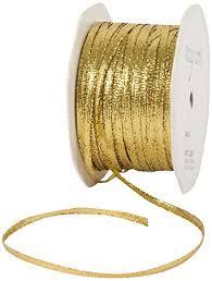 metallic gold ribbon may arts 1 8 inch wide ribbon metallic gold in home