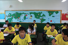 World Map Bulletin Board by Kang Ming Senior High Class 401 Kmsh Class 401 Says Hello To The