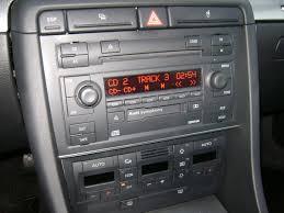 audi a4 2004 radio 2004 audi a4 ultrasport mt6 quattro blk blk 30 pics