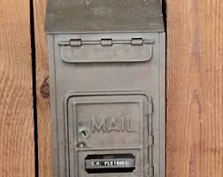 corbin cabinet lock co vintage mailbox what a cute vintage style mailbox to hang by your