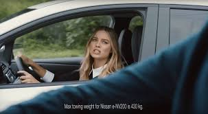 who is the girl in the new nissan altima commercial nissan sets new towing record for evs by pulling margot robbie s