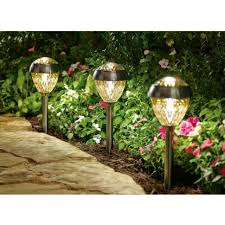 Brightest Led Solar Path Lights by Solar Lights Lowes Outdoor Best Solar Path Lights 2017 Walmart