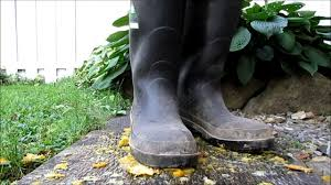 dirty riding boots dirty baffin industrial rubber boots stomps rotten citrus youtube