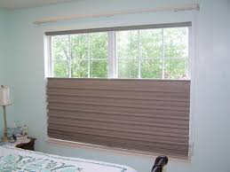 hunter douglas top down bottom up vignette tiered roman shades