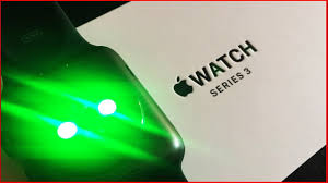 apple watch green light apple watch series 3 42mm space gray review youtube