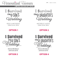 i survived my s wedding engraved i survived my s wedding wine glass 360ml