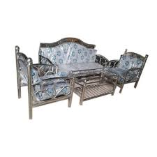 Stainless Steel Designer Sofa Set At Rs  Set Stainless - Steel sofa designs