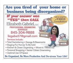 home organizing services west nyack small business spotlight elizabeth gabriel llc