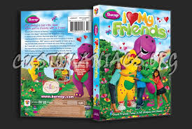 barney love friends dvd cover dvd covers u0026 labels