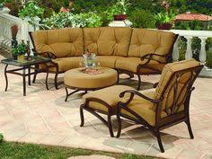 Outdoor Patio Furniture Sets Sale Frontgate Grayson Black Outdoor Furniture Collection Patio