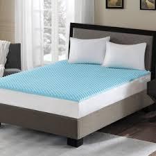 bedroom nice gel memory foam mattress topper for modern bedroom