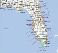 Palm Beach Map Map Of East Coast Of Florida