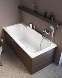 duravit durastyle 1700 x 700mm bath with left slope and support