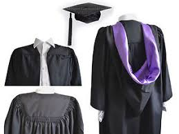 graduation robe luxury graduation gown and burgon cap set bachelor