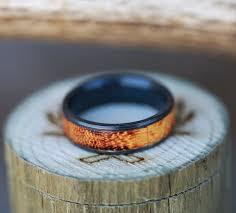 black zirconium wedding bands black zirconium wedding band featuring burnt hedge available in