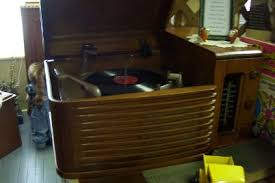 Philco Record Player Cabinet The Old Tyme Radio Centre