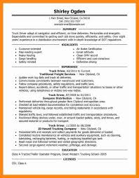 Examples Of Resumes For Truck Drivers by 8 Truck Driver Resume Examples Graphic Resume