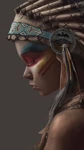iphone 7 plus artistic native american wallpaper id 649887