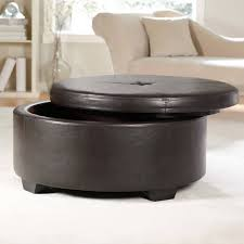 ottomans square tufted ottoman leather coffee table storage