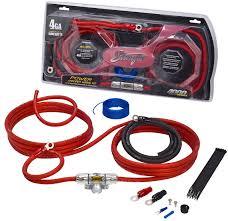 4000 series 4 gauge power wiring kit stinger