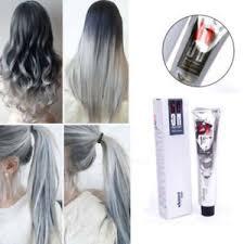 box hair color hair still gray fashion care unisex punk permanent grannyhair silver gray color
