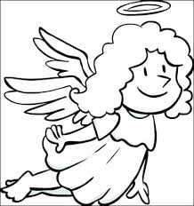 coloring page angel visits joseph coloring page angel angel color pages photo 1 coloring page angel